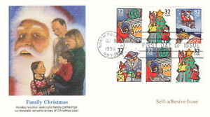 1996 FAMILY CHRISTMAS - FLEETWOOD CACHET FDC COVER