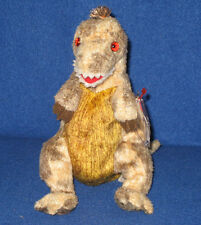TY TOOTHY the TYRANNOSAURUS BEANIE BABY - MINT with TAG - SEE PICS
