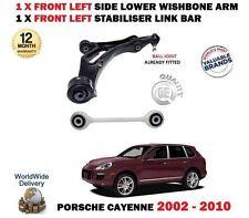 Para Porsche Cayenne 2002- > Eje Delantero Izquierdo Brazo + Barra
