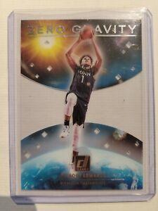 SP Anthony Edwards 2020-21 Donruss Clearly Zero Gravity Rookie #9 Timberwolves