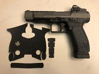 HANDLEITGRIPS Custom Textured Rubber Gun Grip Tape Wrap Canik SFx
