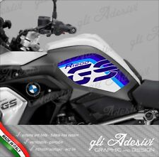 2 Adesivi BMW R 1200 GS LC 2017 RALLYE EXCLUSIVE cover GS blu