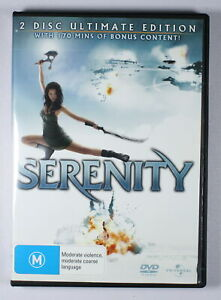 Serenity DVD 2 Disc Ultimate Edition TRACKED POST
