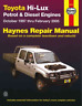 Haynes Workshop Manual Toyota Hi-Lux Petrol Diesel 1997-2005 Service & Repair