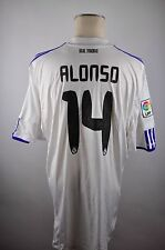 Real Madrid Trikot 2010-11 Gr. XXL #14 Alonso Adidas Spanien bwin Shirt