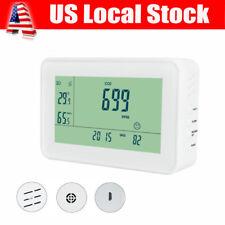 CO2 Meter Temperature Hygrometer Gas Leak Detector Air Quality Monitor Tester