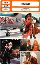 FICHE CINEMA : THE ROSE - Midler,Bates,Forrest,Rydell 1979