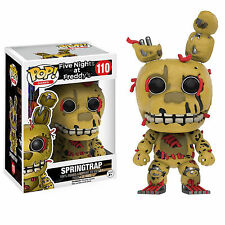 Funko Five Nights At Freddy's POP Springtrap Vinyl Figure NEW Toys Game IN STOCK
