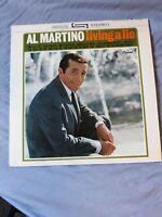 AL MARTINO- living a lie- LP Record