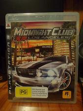 Midnight Club Los Angeles PAL PS3