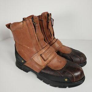 Polo Conquest Leather Boots by Ralph Lauren - Men Size 10D 00000862 812103870