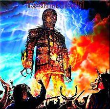 Iron Maiden - The Wicker Man EP Vinyl LP Heavy Metal Sticker or Magnet
