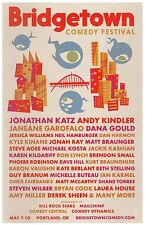 BRIDGETOWN COMEDY FESTIVAL 2015 POSTER ComedyPortland Oregon Neil Hamburger etc.