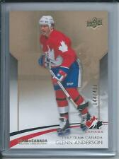 2015-16 UD Upper Deck Team Canada Master Collection GLENN ANDERSON #3 044/499