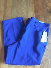 Catherines Slimmer Classic Cobalt Blue Stretch Jeans Size 22 Petite New