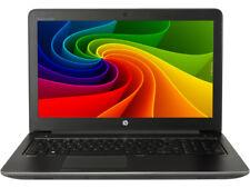 HP ZBook 15 Intel Core i7-4800QM 2.7GHz 16GB 256GB SSD Windows 10 NVIDIA Ware A