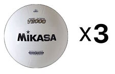 Mikasa Sports Varsity Series Indoor/Outdoor V2000 Volleyball Size 5 (Pack of 3)