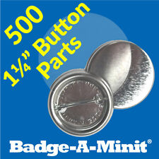 "Badge-A-Minit 500-1 1/4"" Pin-Back Button Sets #3061 New"