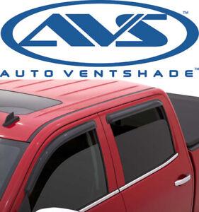 AVS 94536 Tape-On Window Shades Ventvisors 2014-2019 GMC Sierra Chevy Silverado