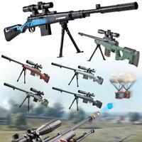 Plastic Sniper Rifle Toy Crystal Ball Water Bullet Toy Gun Gel Blaster Kid Gift