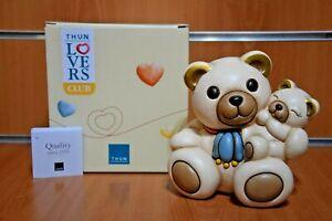 THUN Collezione Thun Club 2021 Teddy Famiglia Statuina Esclusiva THUN Originale