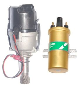 Electronic Distributor & Coil DLB105 replaces  23D 40953A Ford Lotus Twin cam