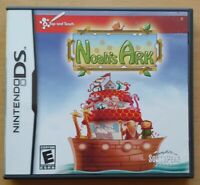 Noah's Ark Nintendo DS DS Lite 3DS 2DS Game Works Complete Tested