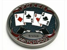 Poker Card Guard Watchdog Brutus Metall massiv