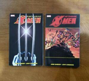Astonishing X-Men: Ultimate Collection Vol. 1 & 2 SET TPB OOP 2012 Marvel Whedon