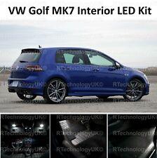 PREMIUM VW GOLF MK7 MKVII GTI 12-19 INTERIOR FULL WHITE LED BULBS LIGHT KIT SET