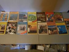LOT OF 15 EARLY 1980S AMERICAN MOTORCYCLIST MAGAZINES,HARLEY,HONDA,SUZUKI,YAMAHA