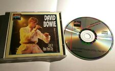 DAVID BOWIE Live in New York City 02.12.1976 Nassau (1991 OnStage CD 12009) RARE