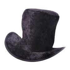 Bristol Novelty Childrens Black Velvet Top Hat