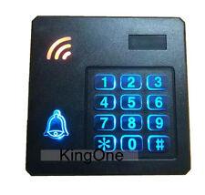 RFID/EM4100 Keypad  125KHz Wiegand 26/34 Reader With LED Waterproof Reader