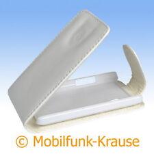 Funda abatible, funda, estuche, funda para móvil F. lg t385 (blanco)