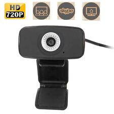 AUSDOM HD Webcam Web Video Camera Adjustable 1080x720P for Laptops Desktop AW310