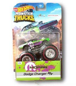 Hot Wheels Monster Trucks -  MOPAR DODGE CHARGER R/T - REDLINE US EXCLUSIVE 2021