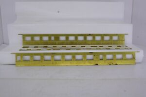 Brass HO Scale Passenger Car Sides Unknown