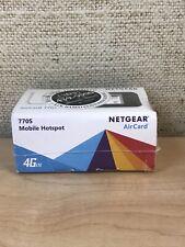 Netgear Unite 4G Mobile WiFi Hotspot - (AT&T) Black Unlocked NEW SEALED