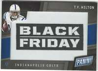 T.Y. HILTON 2017 Panini Black Friday Patches #BFF-TY MEM Colts  ID:9172