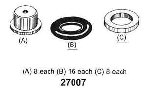 Fuel Injector Seal Kit-FI Tomco 27007