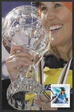 CANADA #2707.2 - SARAH BURKE, CANADIAN SKIING CHAMPION - MAXICARD