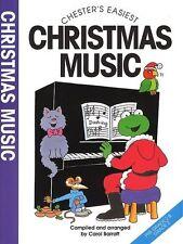 Chester's Easiest Christmas Music, Sheet Music- Piano, English - 9780711943100