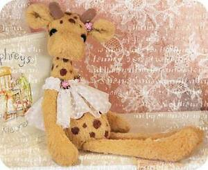 2 In One Sewing Pattern For 8 Inch Giraffe & Reindeer