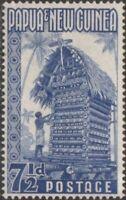Papua New Guinea 1952 SG8 7½d Kiriwana Yam House MNH