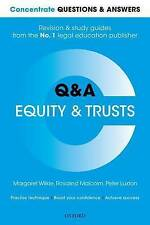 Concentrate Questions and Answers Equity and Trusts (2016)