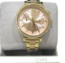 Michael Kors Women's Sofie Crystal Dial Two Tone Watch 39mm MK6584 NWT 275