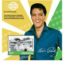 """Grenada- Elvis - His Life In Stamps """"Buying First Home"""" S/S MNH"""