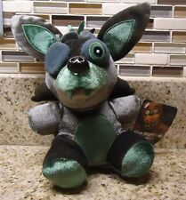 Five Nights At Freddy's Plush EXCLUSIVE Phantom Foxy metallic Green Target CHASE
