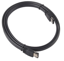 New 3FT eSATA to eSATA 7-Pin Shielded External Cable Cord Black for Hard Drives